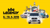 Abrex a Legendy 2018 na pražském Výstavišti (8.-10. června 2018)