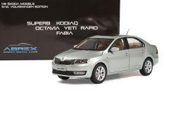 Škoda Rapid (2012) 1:18 - Světlezelená Metalíza