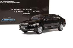 Škoda Superb II FL (2013) 1:18 - Černá