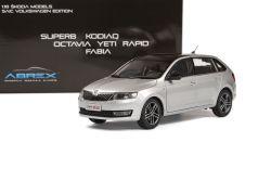 Škoda Rapid Spaceback (2013) 1:18 - Stříbrná Metalíza