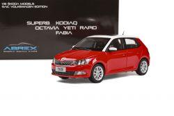 Škoda Fabia III (2015) 1:18 - Červená