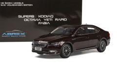 Škoda Superb III (2015) 1:18 - Vínová Metalíza