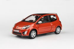 Abrex Cararama 1:24 - Renault Twingo GT - Orange Metallic