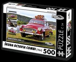Puzzle č. 34 - Škoda Octavia Combi (1964) - 500 dílků