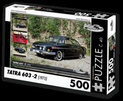 Puzzle č. 40 - Tatra 603 - 2 (1975) - 500 dílků