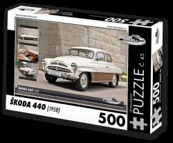 Puzzle č. 45 - Škoda 440 (1958) - 500 dílků