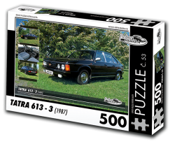 Puzzle č. 53 - Tatra 613 - 3 (1987) - 500 dílků