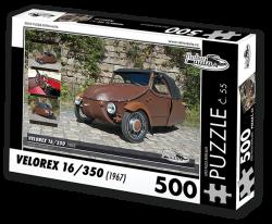Puzzle č. 55 - Velorex 16/350 (1967) - 500 dílků