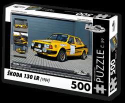 Puzzle č. 59 - Škoda 130 LR (1984) - 500 dílků