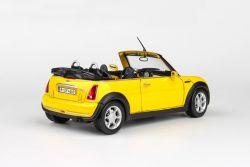 Kovový model New MINI - žlutá