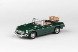 Abrex Cararama 1:43 - MGB Open Top - Green