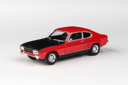 Abrex Cararama 1:43 - Ford Capri RS 1970 - Red