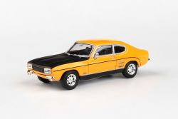 Abrex Cararama 1:43 - FORD Capri RS 1970 - Yellow