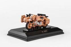 Abrex Cararama 1:43 - BMW-R75 Motorbike - Sandy Yellow