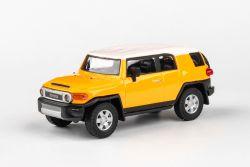 Abrex Cararama 1:43 - Toyota FJ Cruiser - Yellow