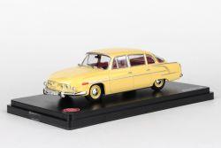 Kovový model Tatra 603 - Žlutá světlá
