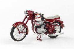 Jawa 500 OHC (1956) 1:18 - Tmavě Červená