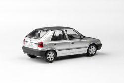 Kovový model Škoda Felicia - Stříbrná metalíza