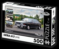 Puzzle č. 66 - Tatra 613 (1979) - 500 dílků