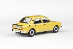 Kovový model auta Škoda 120L - pohled zezadu