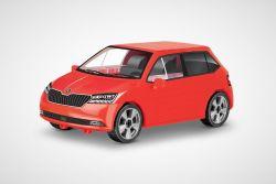 Stavebnice Škoda Fabia III - složený model