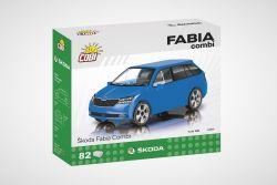 COBI stavebnice - Škoda Fabia III Combi - 1:35 - 82 kostek