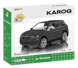 COBI stavebnice - Škoda Karoq - 1:35 - 100 kostek