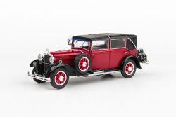 Škoda 860 (1932) 1:43 - Červená Tmavá
