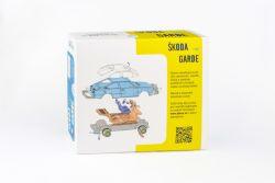 stavebnice Škoda Garde - krabice zadní strana