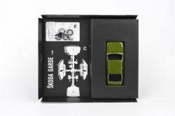 stavebnice Škoda Garde - obsah krabice