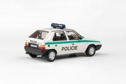 Kovový model Škoda Favorit 136L - Policie ČR
