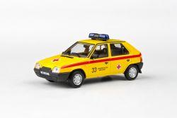 Škoda Favorit 136L (1988) 1:43 - Záchranná Služba Města Brna