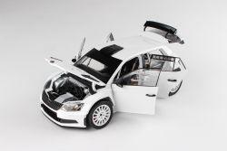 Škoda Fabia III R5 (2015) 1:18 - Bílá