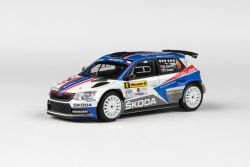Škoda Fabia III R5 (2015) 1:43 - Barum Czech Rally Zlín 2018 #4 Kopecký - Dresler