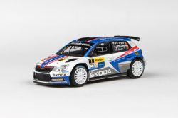 Škoda Fabia III R5 (2015) 1:43 - Kowax Valašská Rally ValMez 2018 #1 Kopecký - Dresler