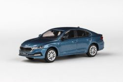 Škoda Octavia IV (2020) 1:43 - Modrá Titan Metalíza