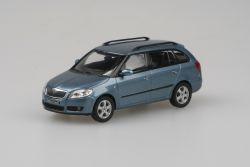 Škoda Fabia II Combi (2007) 1:43 - Šedá Satin Metalíza