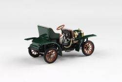 Kovový model Laurin & Klement Voiturette - Zelená Mechová