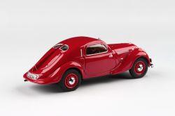 Kovový model Škoda Popular Sport Monte Carlo - Červená
