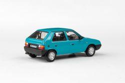 Kovový model Škoda Favorit 136L - Modrá Jadran