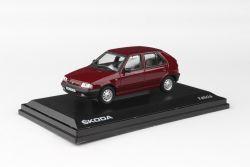 Kovový model Škoda Felicia - Červená Romantická