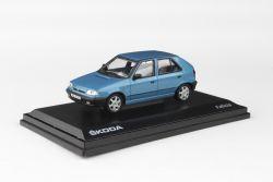 Kovový model Škoda Felicia - Modrá Laguna metalíza