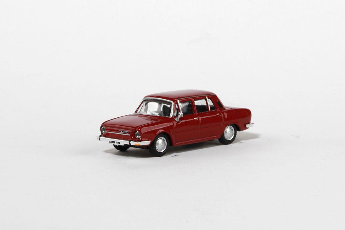 Škoda 110L (1973) 1:72 - Červená Rubínová