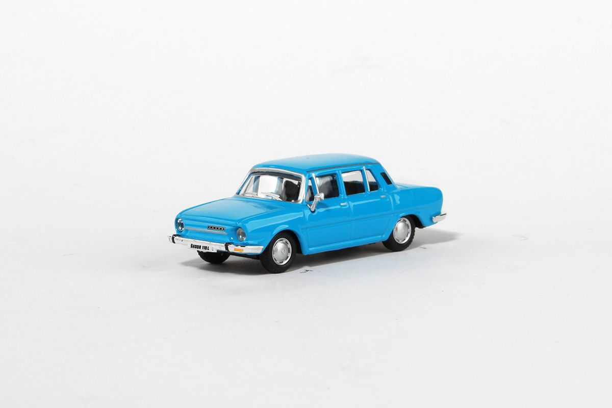 Škoda 110L (1973) 1:72 - Modrá Světlá