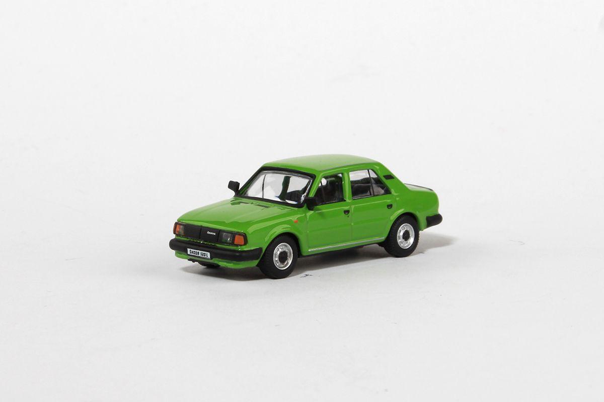 Škoda 120L (1984) 1:72 - Zelená Světlá