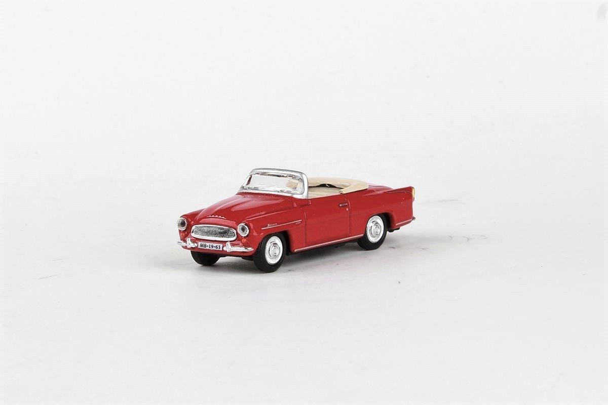 Kovový model Škoda Felicia Roadster - pohled zepředu