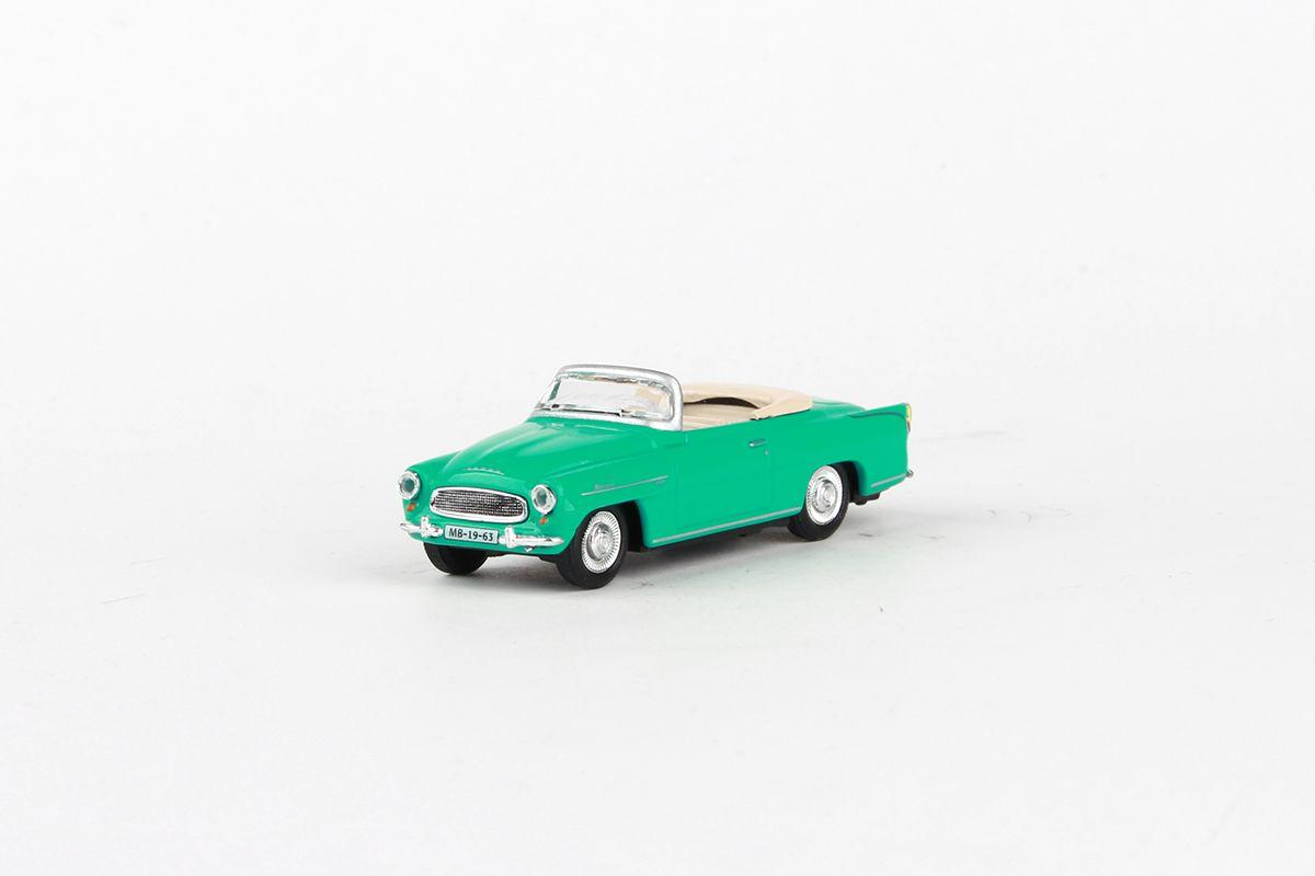 Škoda Felicia Roadster (1963) 1:72 - Tyrkysová