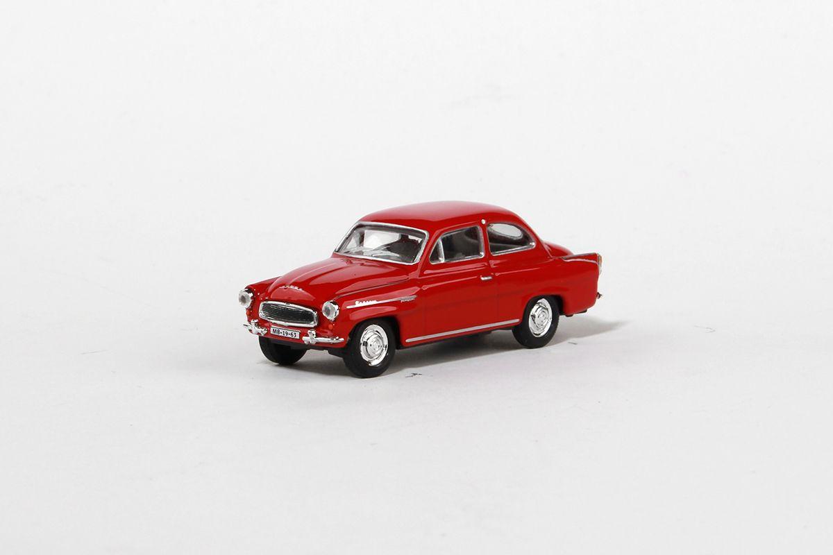 Škoda Octavia (1963) 1:72 - Červená Tmavá