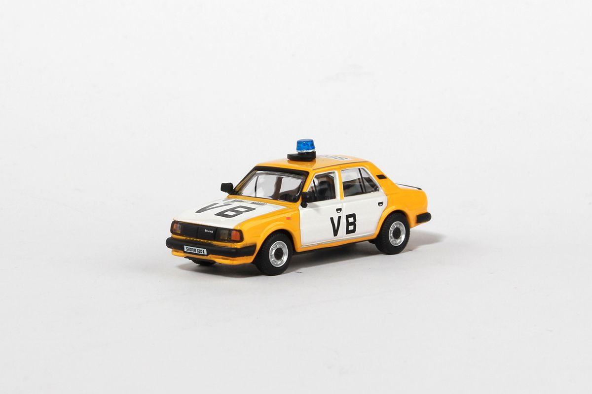 Škoda 120L (1984) 1:72 - Veřejná Bezpečnost