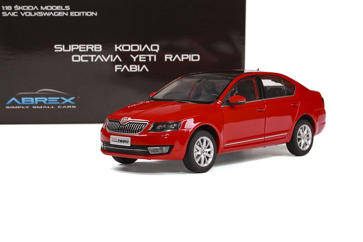 Škoda Octavia III (2014) 1:18 - Červená